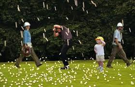 golf ball rain